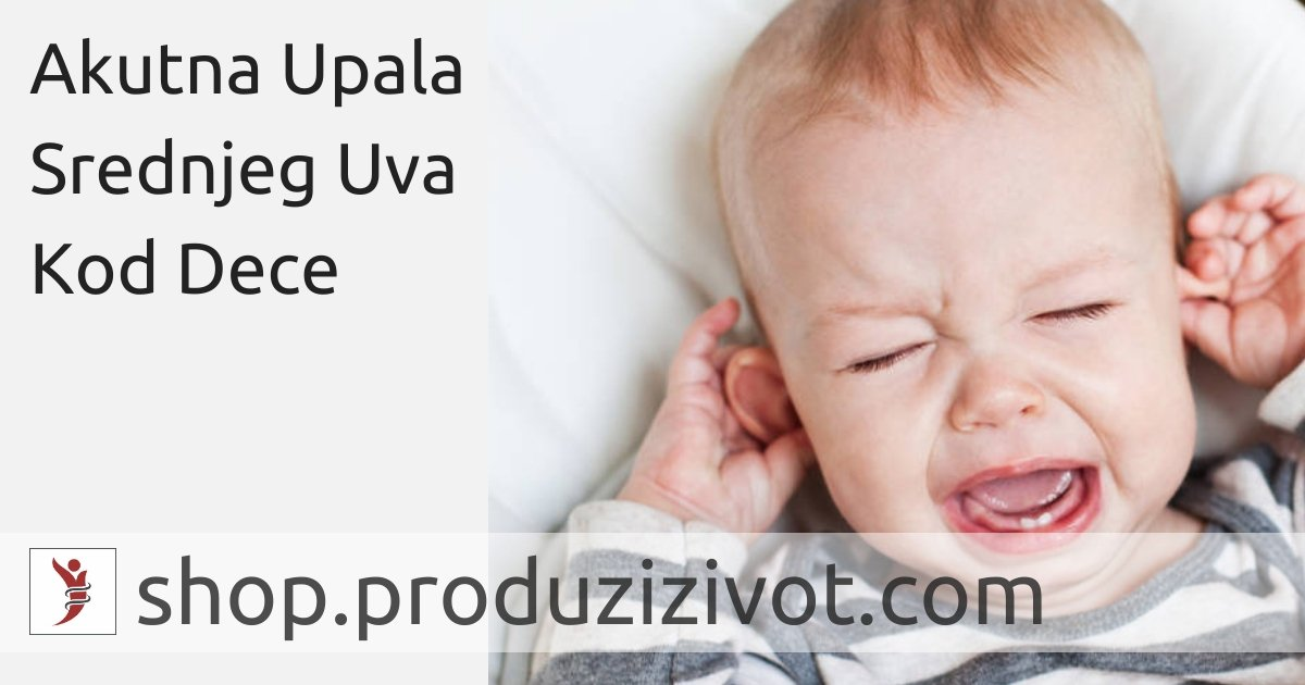 Akutna Upala Srednjeg Uva Kod Dece; FOTO: https://www.mydr.com.au/kids-teens-health/otitis-media-in-children